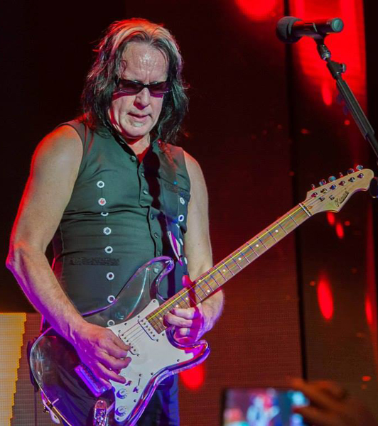 Todd Rundgren and Lucy the Glass Guitar
