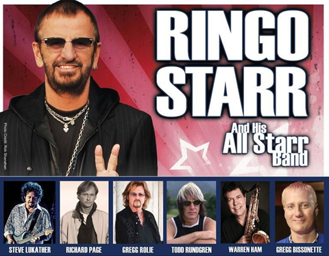 Todd Rundgren Tour Dates with Ringo Starr and his All Starr Band - Summer 2016