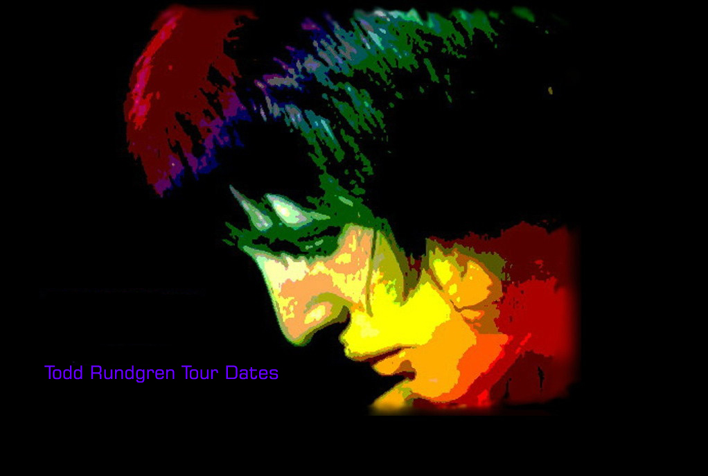 Todd Rundgren fans, welcome! Check out Todd's latest tour schedule.
